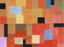 Meditation, Oil on Linen (27x24cm)