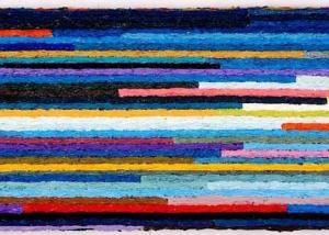 Meditations 8, Oil on canvas (60x20cm)