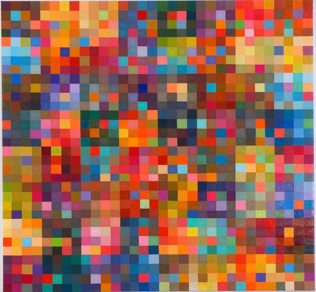 Skin of Love, Oil on Linen (150x140cm)
